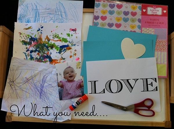 DIY Valentine's Day Card Craft #valentinesday #crafts