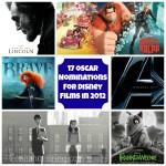 Disney Films 2012 Score 17 Oscar Nominations!