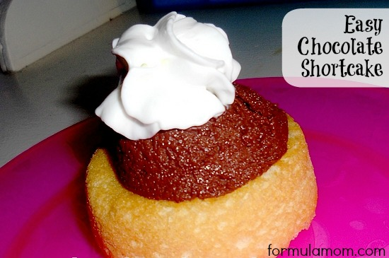 Easy Chocolate Shortcake Recipe