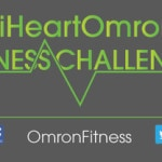 I'm an # iHeartOmron Fitness Challenge Ambassador! #mamavation