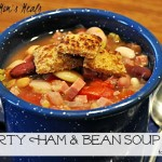 Slow Cooker Hearty Ham and Bean Soup