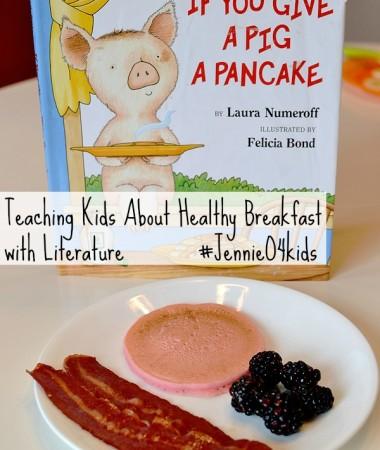 Healthy Breakfast for Kids with Literature #JennieO4kids #MobilizingMillions