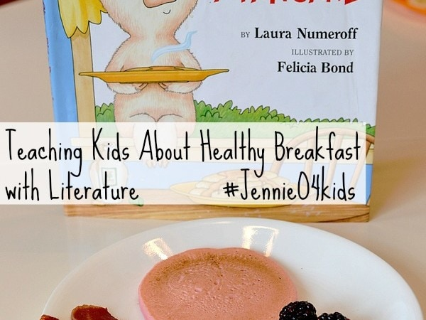 Teaching Kids About Healthy Breakfast with Literature #JennieO4Kids