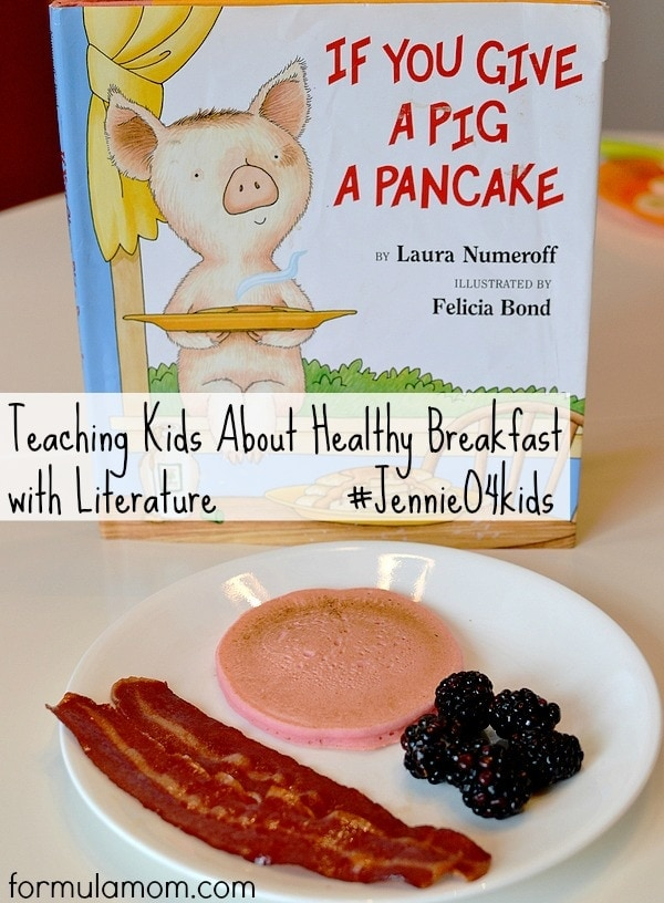 Healthy Breakfast for Kids with Literature #JennieO4kids #MobilizingMillions