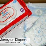 Saving on Diapers & Wipes with #Kidgets from Family Dollar