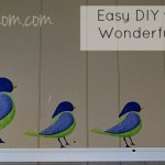 Easy DIY with My Wonderful Walls #mwwng13