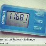 My Pedometer Steps Per Mile Motivate Me #iHeartOmron Fitness Challenge