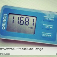 My Pedometer Steps Per Mile Motivate Me #iHeartOmron Fitness Challenge