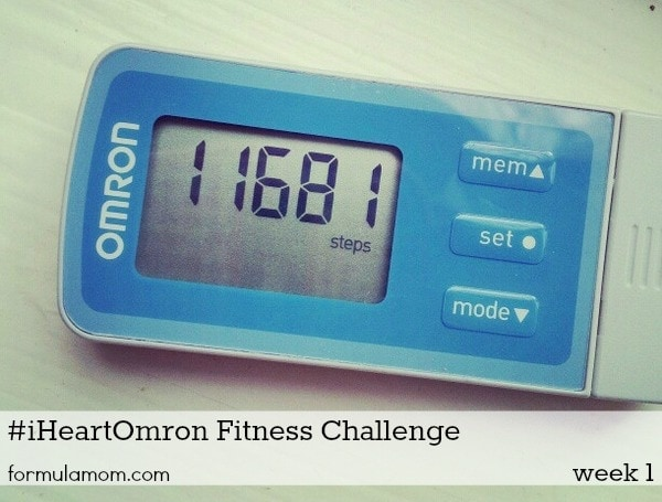 My Pedometer Steps Per Mile #iHeartOmron Fitness Challenge #mamavation