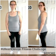 Getting Inspired with the Omron Fitness Challenge #iheartomron #mamavation