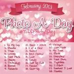 February Photo a Day Challenge #7SDDPhotoADay