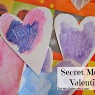 DIY Valentines: Secret Message Valentines  #valentinesday