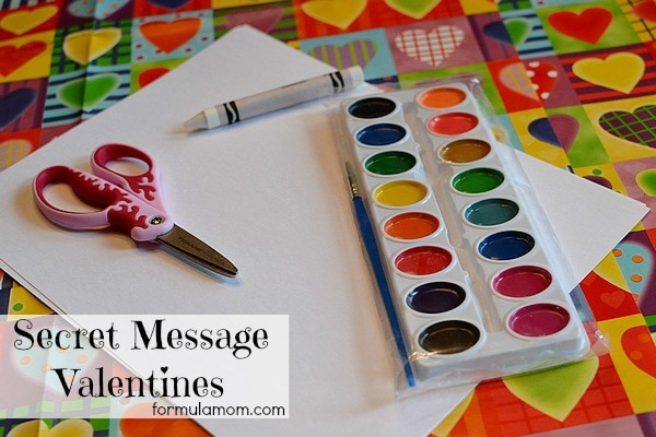 Secret Message DIY Valentines #crafts