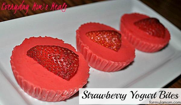 Strawberry Yogurt Bites #recipe