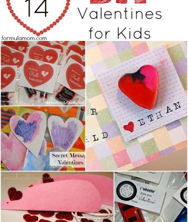 14 DIY Valentines for Kids #valentinesday #crafts