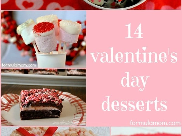 14 Valentine Day Desserts Recipes #ValentinesDay