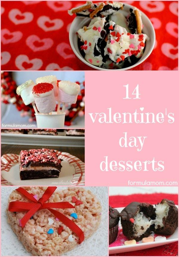 14 Valentine Day Desserts #valentinesday