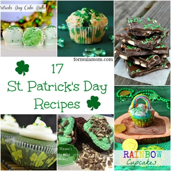 17 St Patrick Day Recipes #stpatricksday
