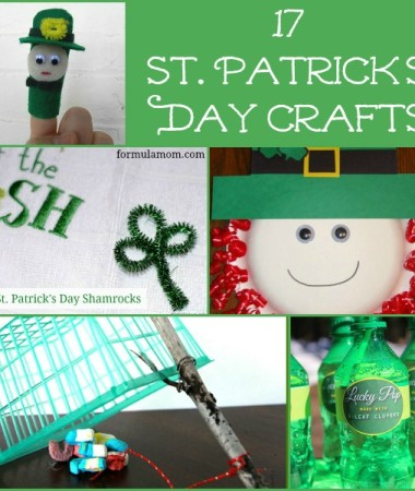 17 St Patrick's Day Crafts #stpatricksday