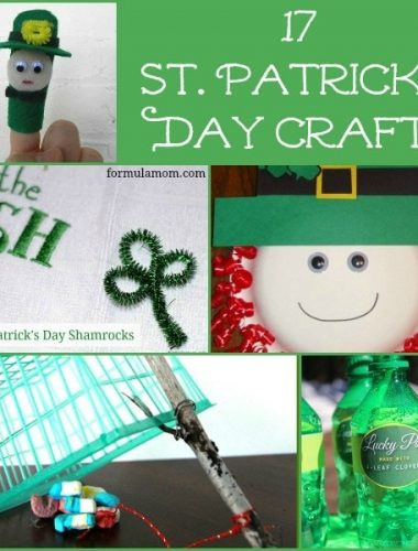 17 St Patrick's Day Crafts #stpatricksday