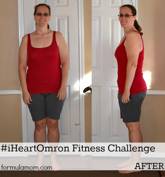 #iHeartOmron Fitness Challenge Success