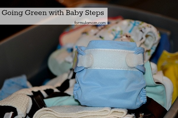 Going Green - Cloth Diapering