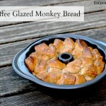 Semi-Homemade Monkey Bread Recipe with Iced Coffee Glaze #LightIcedCoffee