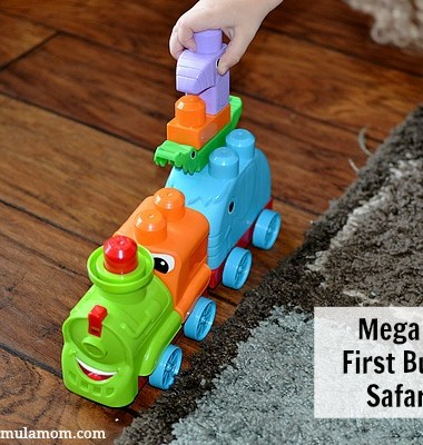 Mega Bloks® First Builders™ Safari Train Toy