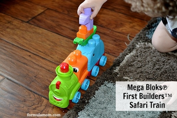 Mega Bloks® First Builders™ Safari Train #FirstBuilders