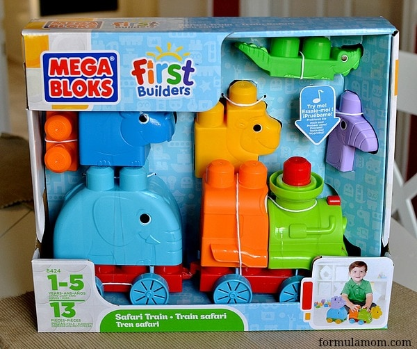 Mega bloks first builders safari train firstbuilders for Builders first