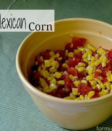 Easy Meixcan Corn Recipe