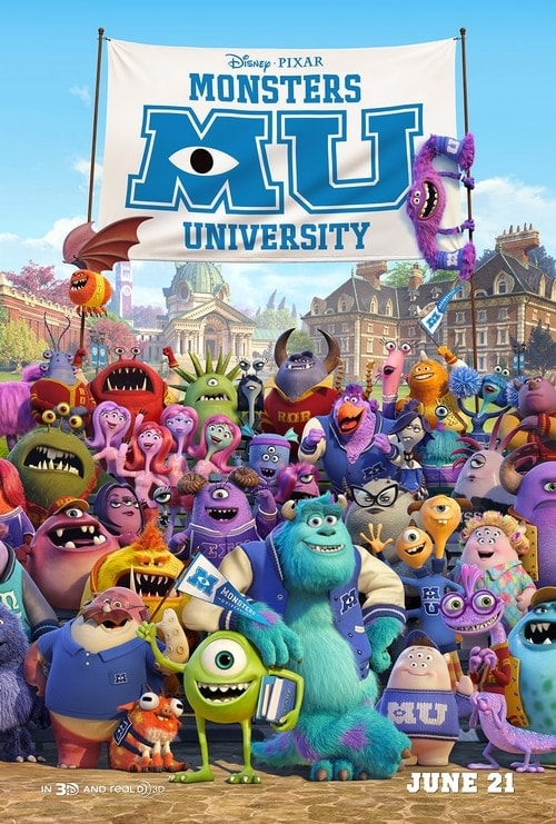 Back to School with Monsters University #MonstersUniversity