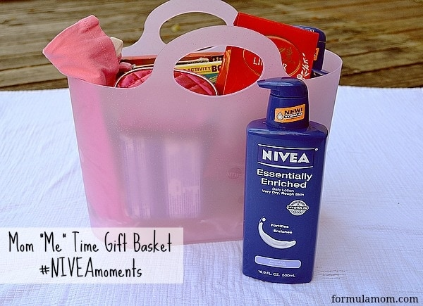 Time for Mom Care Basket with NIVEA #NIVEAmoments