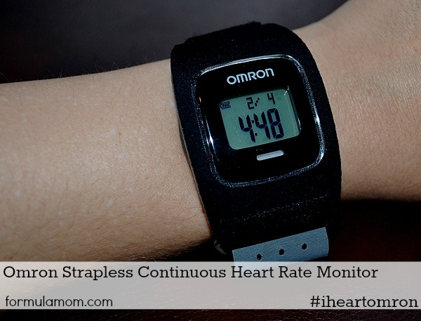 #iHeartOmron Fitness Challenge Heart Rate Monitor