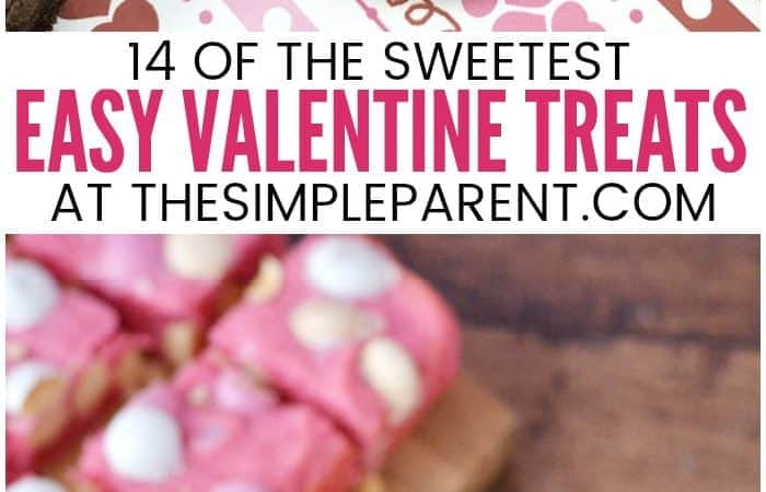 14 Sweet & Easy Valentine Treats You'll Love