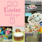20 Easter Dessert Recipes #Easter