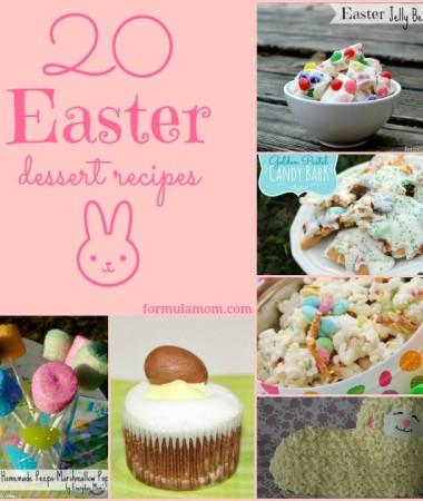 20 Easter Dessert Recipes #Easter