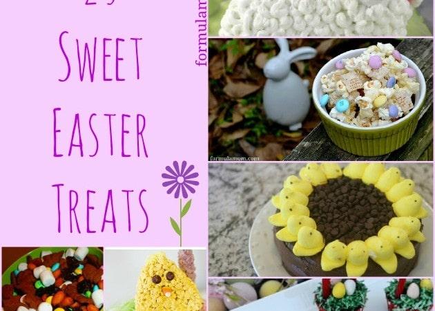 25 Sweet Easter Treats for Kids #Easter