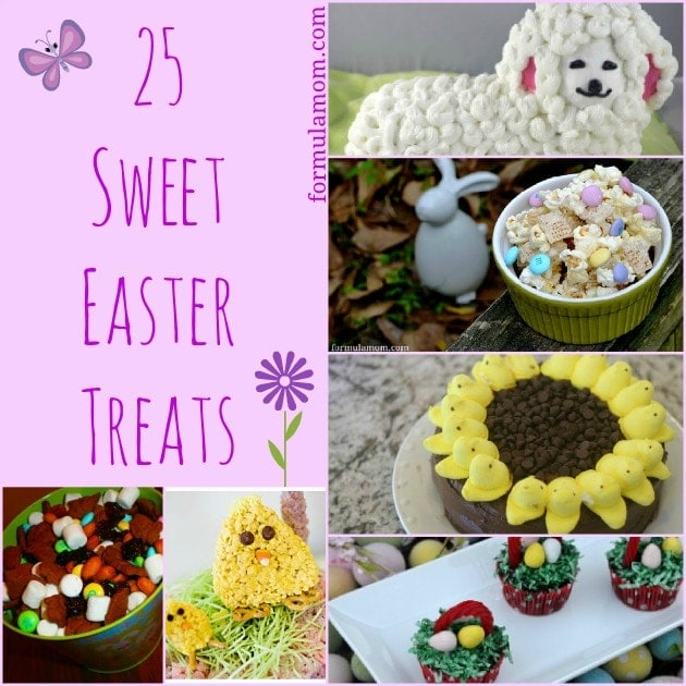 25 Sweet Easter Treats #Easter