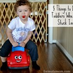 5 Things to Do With Toddlers When You're Stuck Inside!