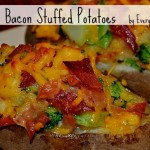 Broccoli & Bacon Stuffed Potatoes