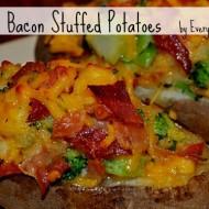 Broccoli & Bacon Stuffed Potatoes