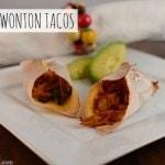 Baked Wonton Tacos Recipe