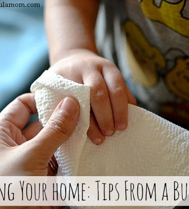 Clean Your Home: Tips From a Busy Mom