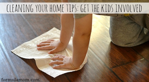 Cleaning Your Home Tips: Get the Kids Involved