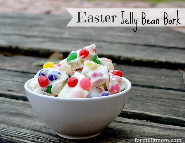 Easy Easter Recipe: Easter Jelly Bean Bark