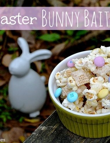 #Easter Treats: Bunny Bait Snack Mix