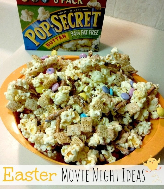 Ideas for an Easter Family Movie Night #PopSecretMovieNight #Easter