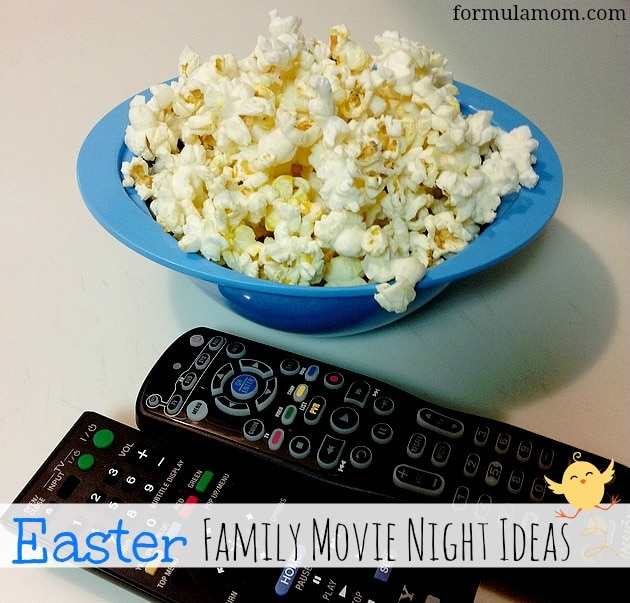 Easter Family Movie Night with Pop Secret #PopSecretMovieNight