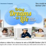 "Gerber Life ""Bring Dreams To Life"" Video Contest & Giveaway #BringDreamsToLife"